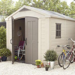 armoire de jardin en pvc